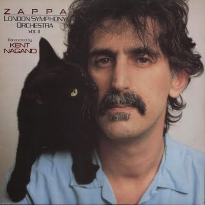 Album cover - Frank Zappa. Never heard it, will have to give it a spin!
