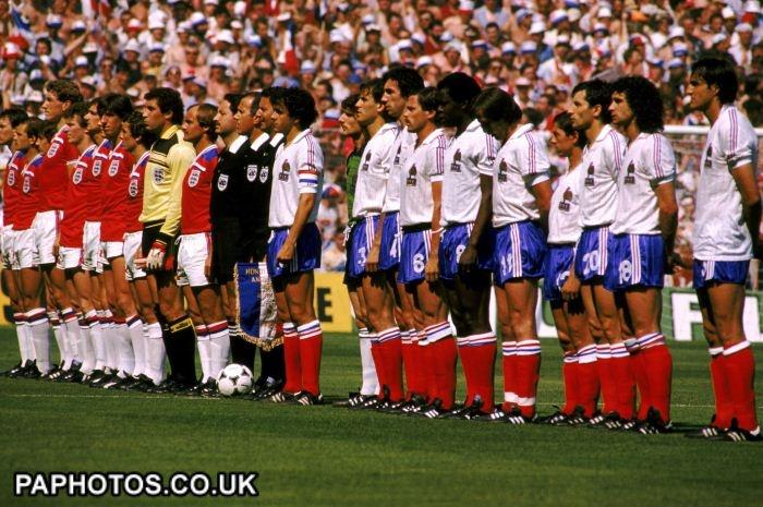 Soccer - World Cup - Spain 1982 - England v France