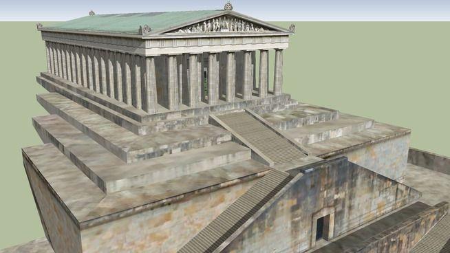 Arquitectura helénica antigua, el Partenón.