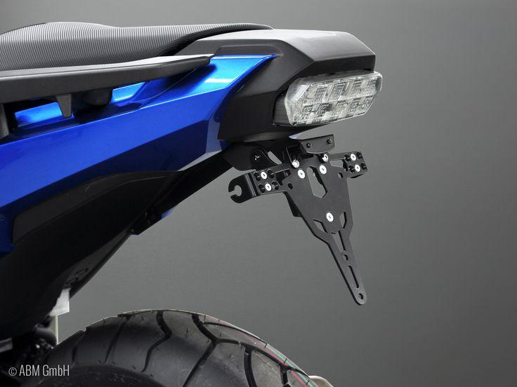 ABM-Kennzeichenhalter - prämiert von MOTORRAD im Februar 2017