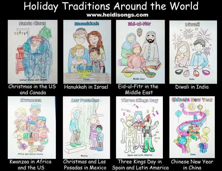 Holiday Traditions Around The World Read Aloud Student
