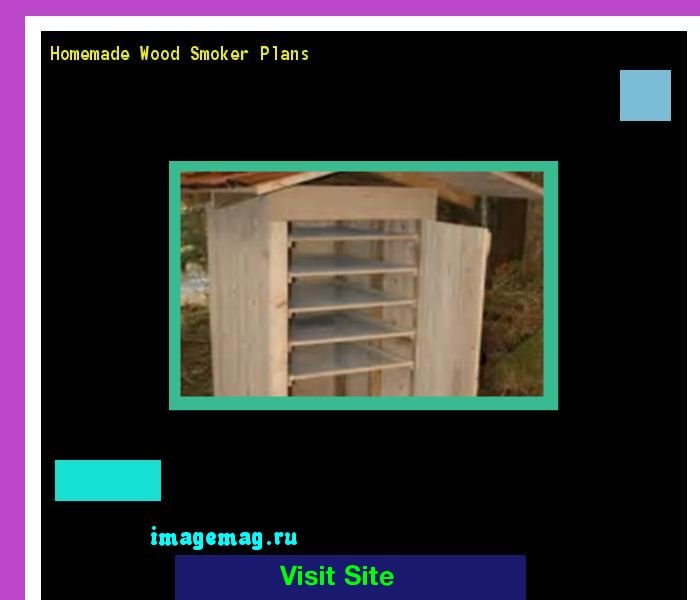 Homemade Wood Smoker Plans 183350 - The Best Image Search