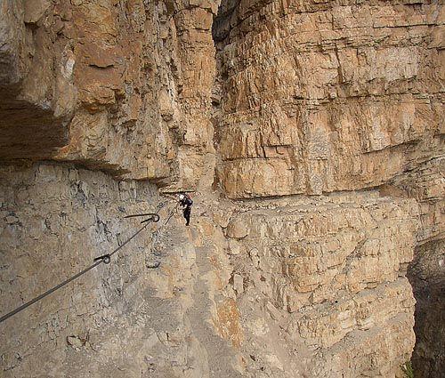 Sentiero attrezzato Gerardo Sega