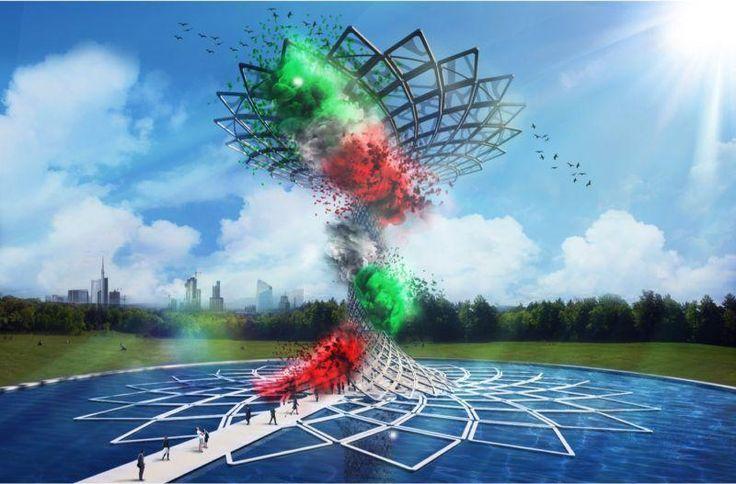 Mercoledì 4 marzo è stato innalzato nel cuore del Padiglione Italia l'Albero della Vita, che sarà il simbolo dell'imminente Expo 2015,
