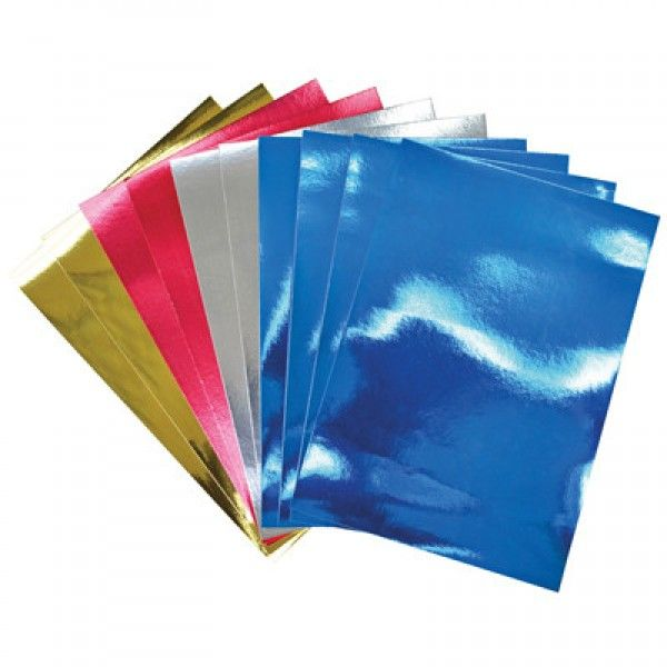 Mirror Board A4 Assorted Pack 50