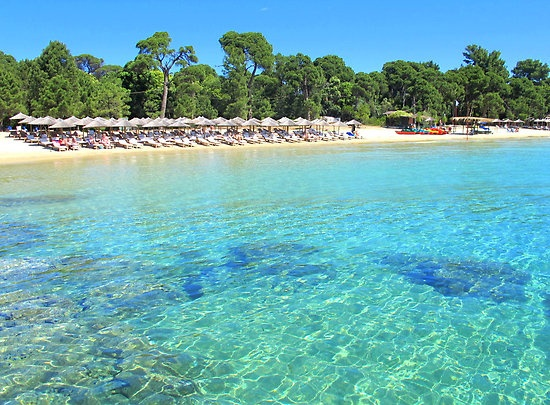Koukounaries Beach - Skiathos, Greek Islands by Honor