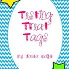 Before end of year testing I like to give my students treat bags to give them extra encouragement to do their best. In the treat bags I include: A ...