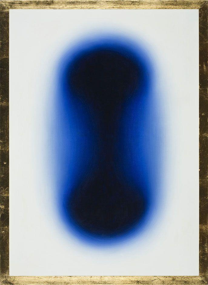 Polish artist Wojciech Fangor's mesmerising paintings inaugurate a new London gallery
