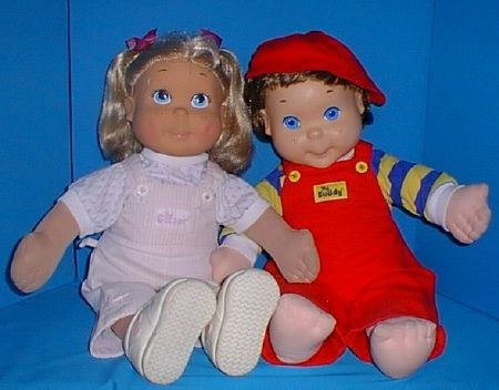 Kid Sister and My Buddy dolls. Now that I look back on it they were pretty creepy