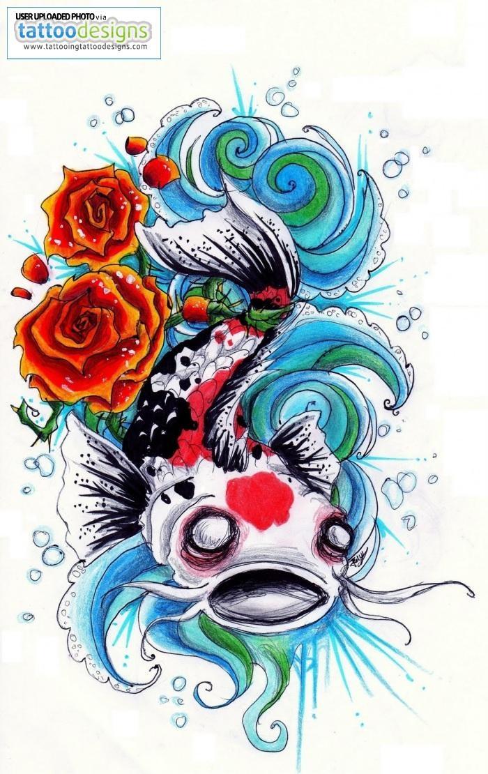 120 besten koi fish tattoo designs bilder auf pinterest fische t towierungen und koi tattoo. Black Bedroom Furniture Sets. Home Design Ideas