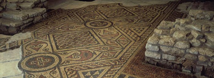 The North Leigh Roman Villa is an excellent English Heritage site. It makes a wonderful day trip from Oxford. Take the train to Hanborough, and then go by footpath 3.5 miles. A great spot for a picnic on a nice day, and plenty of lovely scenery along the way.