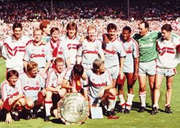 Reds beat Arsenal to win Charity Shield - 1989