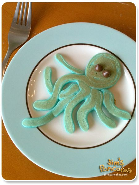 Octopus pancakes. Because sometimes we just need to traumatize the Oswald-lovers.