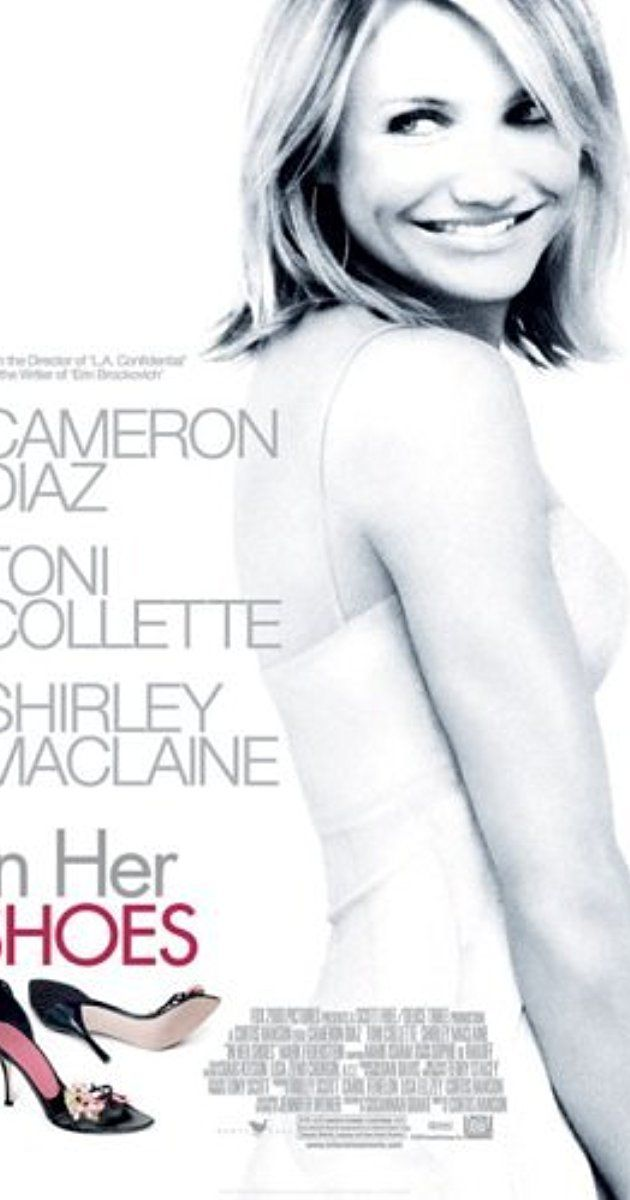 Directed by Curtis Hanson.  With Toni Collette, Cameron Diaz, Shirley MacLaine, Anson Mount. Strait-laced Rose breaks off relations with her party girl sister, Maggie, over an indiscretion involving Rose's boyfriend. The chilly atmosphere is broken with the arrival of Ella, the grandmother neither sister knew existed.