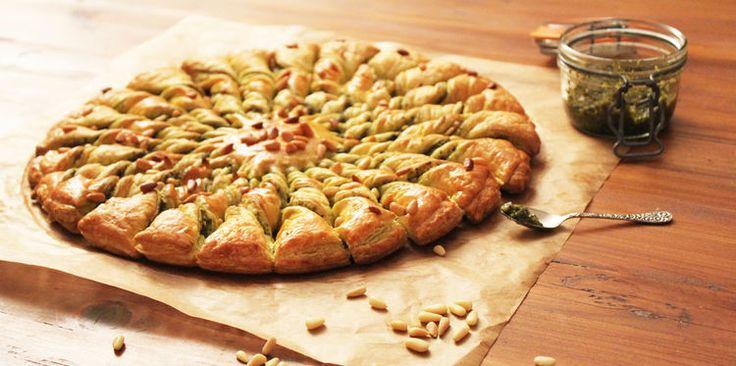 J'ai testé : la tarte soleil pesto-pignons (pas-à-pas) - Cuisine Actuelle