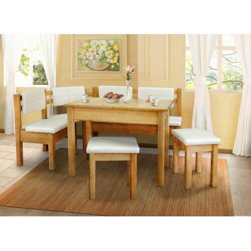 Кухонный уголок со столом и табуретами Козак