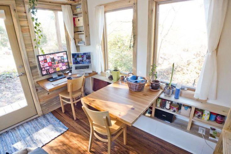 Optimizando espacios en la sala de casa pequeña
