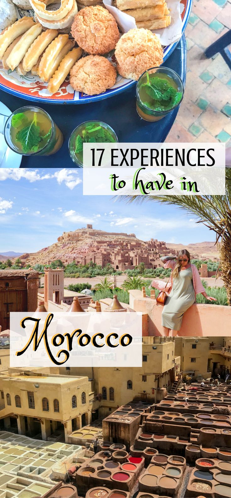 17 Experiences to have in Morocco | Things to do in Morocco | Morocco Bucket List | What to do in Morocco | Moroccan Experiences | Things to do in Morocco | Fez, Morocco | Meknes, Morocco | Casablanca, Morocco | Marrakech, Morocco | Sahara Camping | Camel Rides in Morocco |
