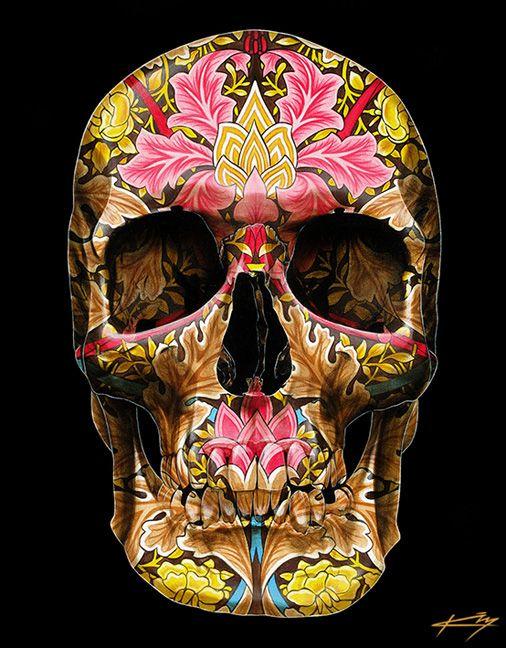 Skull by Gerrard King