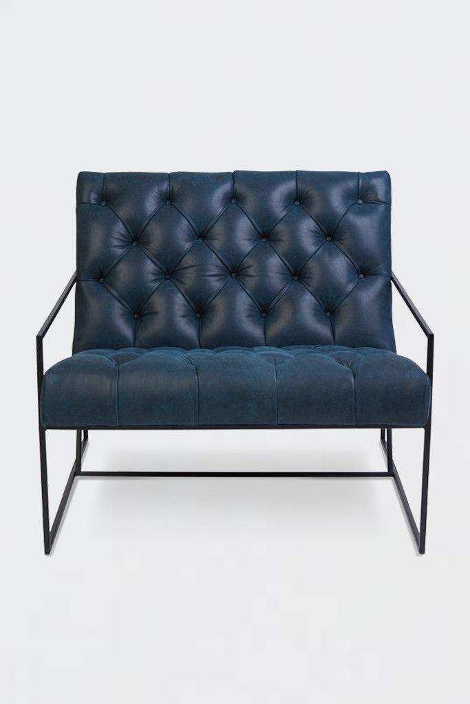Thin Frame Lounge Chair | Lawson Fenning