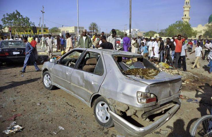 More than 100 people dead after explosions go off at Nigerian mosque - NEW YORK DAILY NEWS #Nigeria, #Explosion