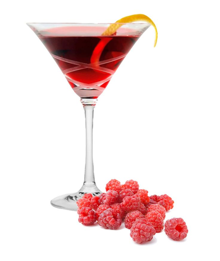 Put a twist on a classic drink. Make a Raspberry Kamikaze using Daily's Cocktail mixers and your own alcohol.