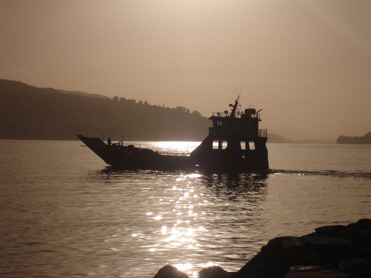 Barcaza En Corral