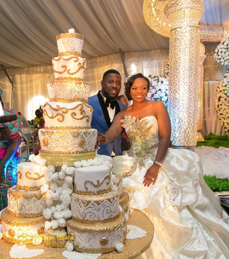 Sinach Wedding Cake
