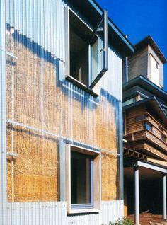 (Strawbale house), London. Architect: Sarah Wigglesworth & Jeremy Till, SW Architects.