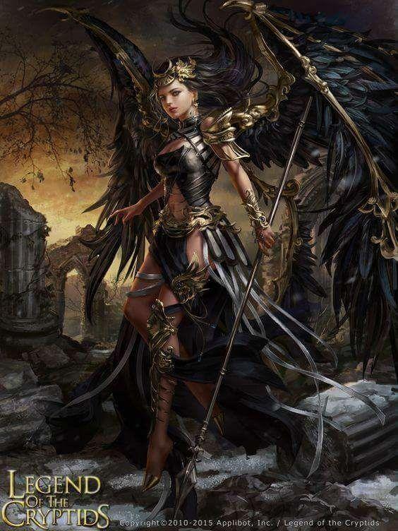 Legend of the Cryptids  Dark Angel  (JPEG-Grafik, 564×752 Pixel)