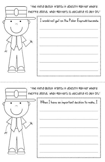 Little Miss Glamour Goes to Kindergarten: Polar Express {math