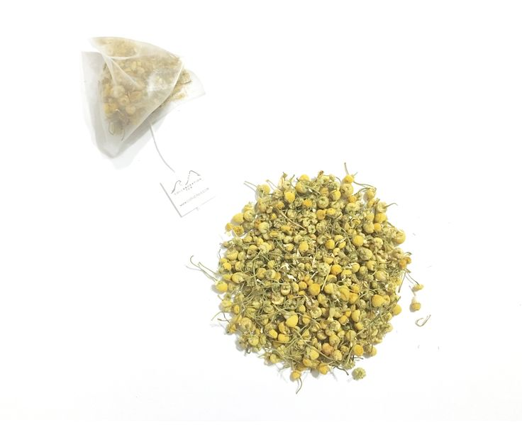 Chamomile - Non caffeinated chamomile tea that is perfect for drinking just before sleep!