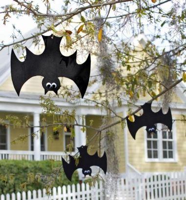 Lógó papír denevérek - Halloween dekoráció egyszerűen / Mindy -  kreatív ötletek és dekorációk minden napra