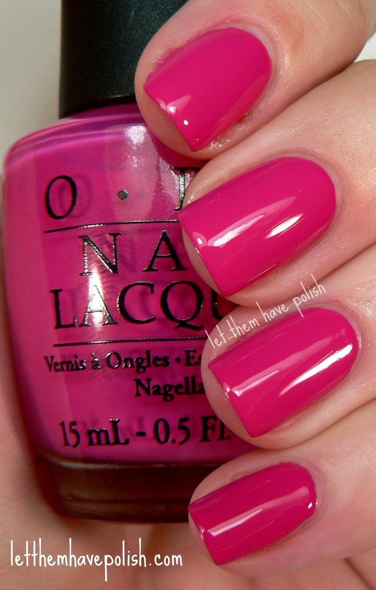 Have Opi nail polish pink collection