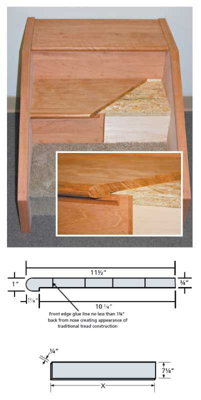 New Stair Tread Purchase and Installation Instructions
