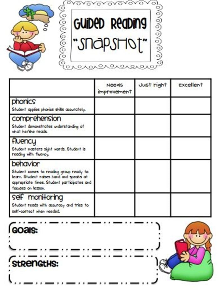 guided reading flip flap books