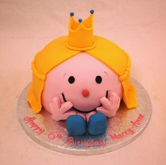 Best Little Miss And Mr Men Party Images On Pinterest Men - Little miss birthday cake