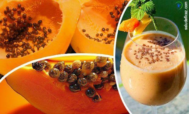 Si tienes el abdomen hinchado vas a amar este licuado de papaya para bajar de peso. Aquí te contamos sus beneficios y la receta.