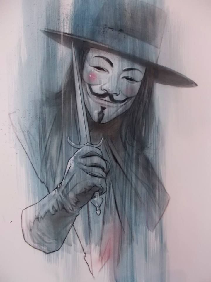 V for Vendetta by Ben Oliver *