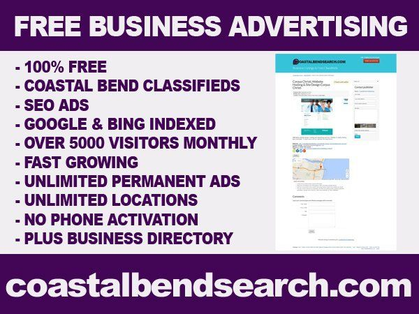 CoastalBendSearch.com - Rockport, TX, United States. Corpus Christi Texas Advertising - Free small business advertising website serving the TX Coastal Bend area. coastalbendsearch.com