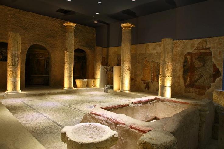 #travel #city #turkey #gaziantep #zeugma #mosaic #museum #poseidon #kitchen