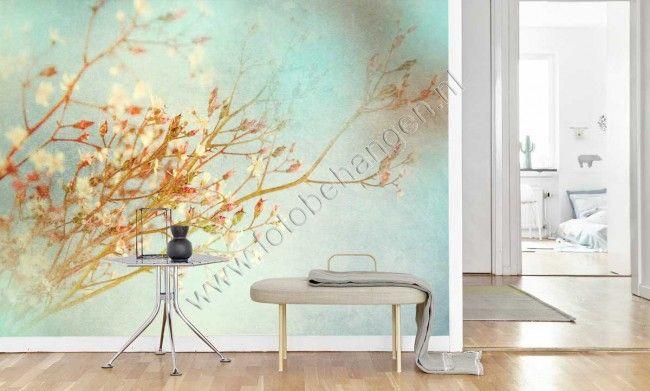 Vlies fotobehang Vintage bloemen - Bloemen en planten | Fotobehangen.nl