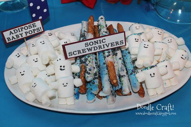 dr who party food | Doodle Craft...: Doctor Who Party Week!