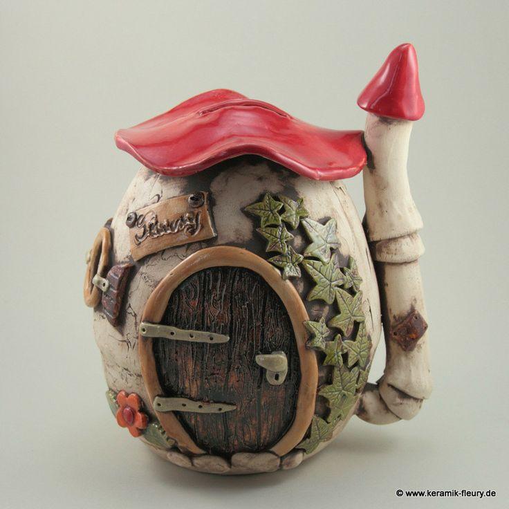 Spardosen - FLEURY - Kreative Keramik für Haus und Garten