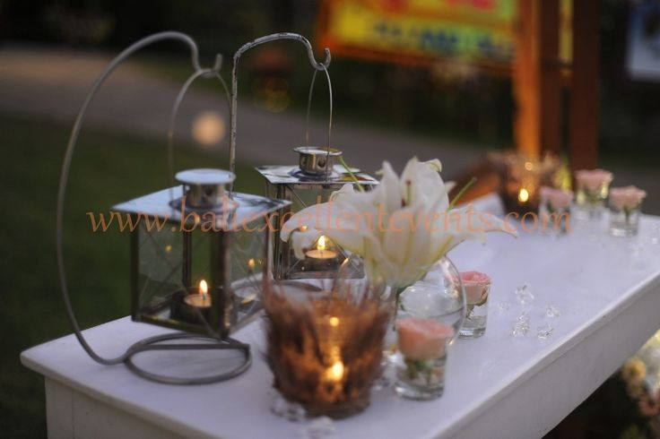 Guest Reception table, add your personal items to make it more special
