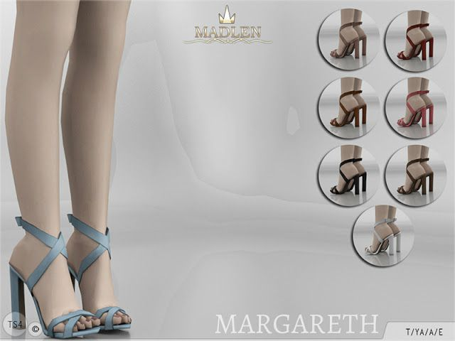 Sims 4 CC's - The Best: Madlen Margareth Shoes // http://vaidososimmer.tumblr.com/