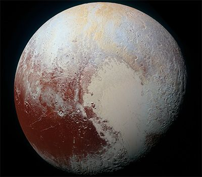 NASA finds #Pluto steeped in flowing #glaciers and kilometre-high #mountains