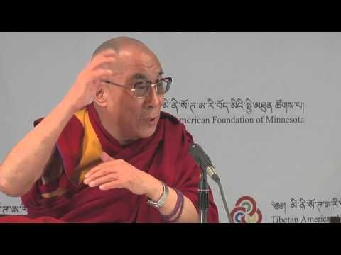 Dalai Lama talks with an 11 year old about inner disarmament leading step by step to outer disarmament.