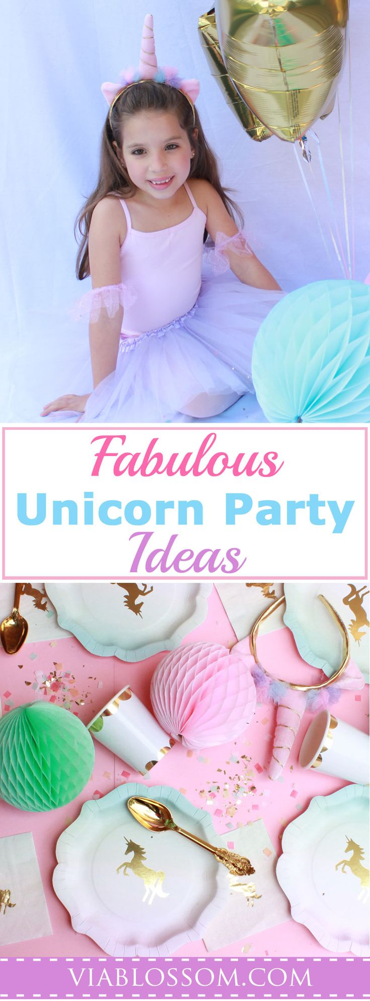 Our Top Unicorn Party Ideas and Decorations will help you plan your Unicorn party with ease!  If you are planning a Unicorn Birthday Party for your girl look no further!