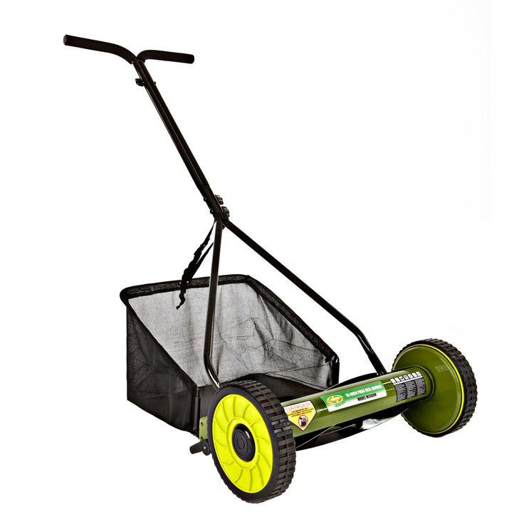 Sun Joe 16-in Reel Lawn Mower